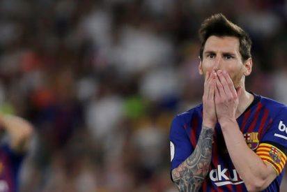 La ostentosa parrilla de Messi hace arder las redes sociales