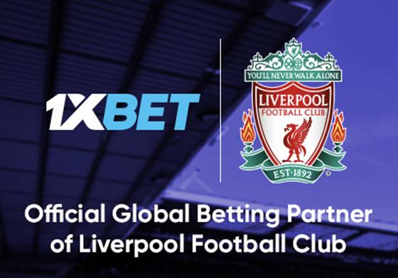 El Liverpool FC inicia una colaboración nueva con 1XBET