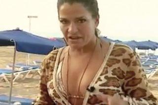 """Aída Nizar cabrea a una señora en la playa de Benidorm: """"¡Marrana, Hija de p*ta!"""""""