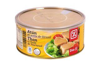 ¡Alerta Sanitaria!: Toxina botulínica en el atún en aceite de girasol de la marca DIA