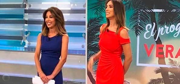 El gran gesto de Patricia Pardo con su compañera Ana Terradillos en 'El Programa del verano'