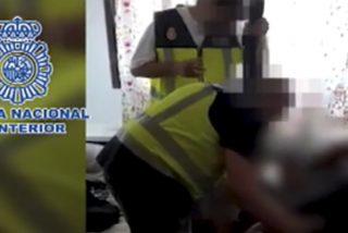 Así libera la Policía Nacional en Toledo a un hombre que había sido secuestrado