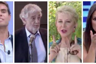 """La fosilizada Karmele busca ganar protagonismo a costa de Plácido Domingo: """"Se me acercó más de la cuenta"""""""