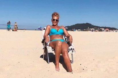 El posado en bikini de Belén Esteban del que todos hablan