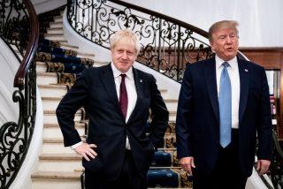 Donald Trump promete a Boris Johnson un acuerdo comercial rápido EEUU-Reino Unido tras el Brexit