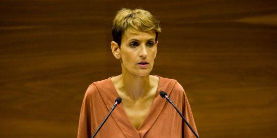 ¡Maldita vídeoteca! María Chivite se queda en bragas con esta 'sincera' declaración contra los nacionalistas