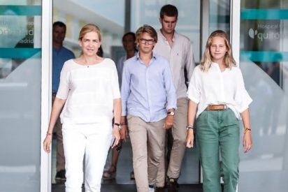 Las misteriosas pulseras que llevan todos los miembros de la familia de la infanta Cristina