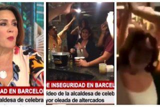 """Cuatro sale al rescate de la """"boracha"""" Colau:  """"Si ahora la vamos a criticar por beberse unas cervezas..."""""""