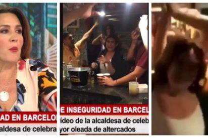 """Cuatro sale al rescate de la 'borracha' Colau: """"Si ahora la vamos a criticar por beberse unas cervezas..."""""""