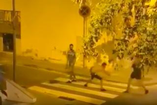 La Barcelona de Colau: magrebíes atacando con katanas en plena calle sin que nadie mueva un dedo durante 4 horas