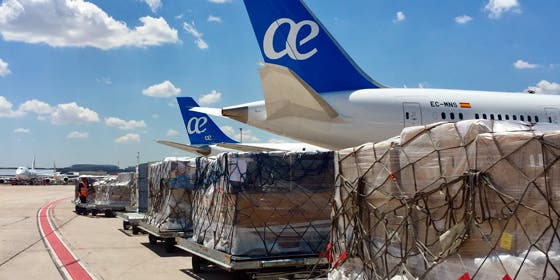 Air Europa aumenta un 24% el transporte de mercancías con su gestión y comercialización directa