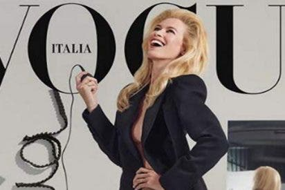 Claudia Schiffer se desnuda para Vogue a sus 48 años