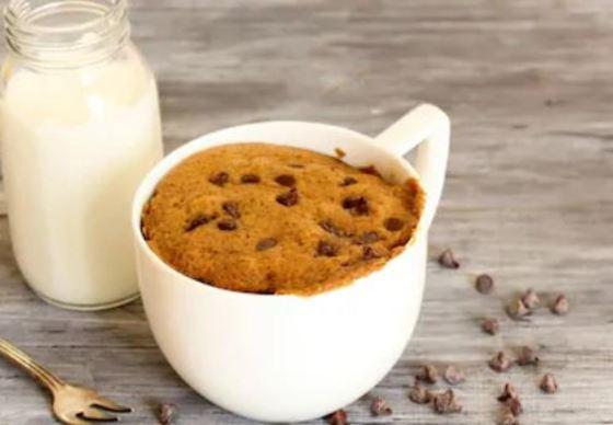 Cookies de chocolate rápidas, (en el microondas)