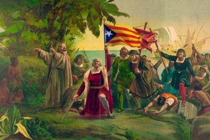 """Museo de Arte Contemporáneo de Barcelona: """"Cristobal Colón era el embajador de la Generalitat"""""""