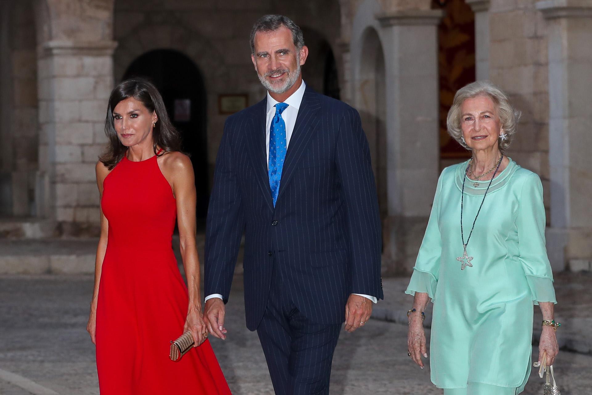 'Prueba Superada': El Reina Letizia ha triunfado en Mallorca para satisfacción de la Familia Real