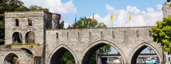 Derrumban este puente medieval para que puedan pasar los cruceros