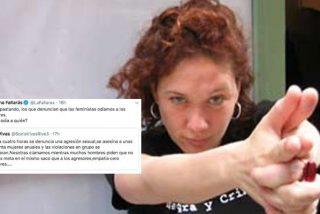 El tuit con el que la zafia Cristina Fallarás fomenta el odio entre el hombre y la mujer