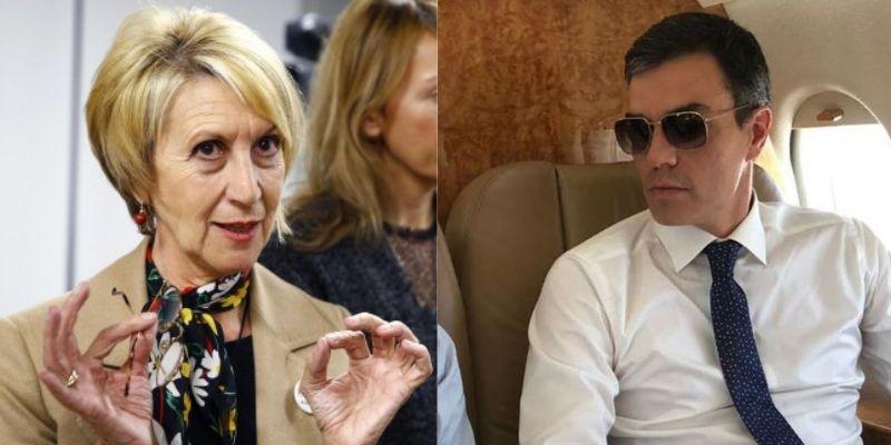 """Rosa Díez estalla harta de Sánchez tras el despilfarro del 'Audaz': """"El Falcón para conciertos y la Armada para recoger inmigrantes"""""""