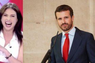 El infausto comentario de Marta Flich sobre el cambio de look de Casado, ¡de vergüenza!