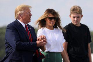 Casa Blanca: reaparece Barron Trump tras varios meses apartado de la escena y ha cambiado