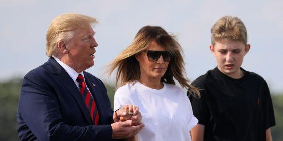 Casa Blanca: reaparece Barron Trump tras varios meses apartado de la escena y ha cambiado (mucho)