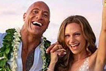 Dwayne Johnson 'La Roca' se casa en secreto en Hawái y se lo cuenta a todo el mundo en Instagram