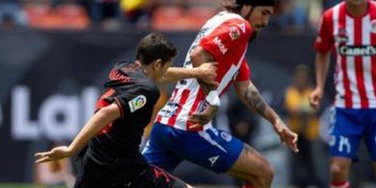 El Atlético de Madrid sigue con su buena racha de pretemporada tras remontar ante el Atlético San Luis