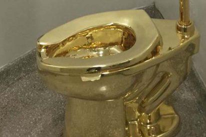 El Palacio de Blenheim 'instala este inodoro de oro de 18 quilates de £ 1 millón para sus visitantes'