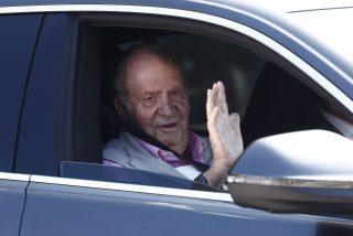 El Rey Juan Carlos sale del hospital feliz como una perdiz y con 'cañerías nuevas'