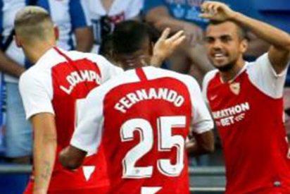 El Sevilla revienta el debut al Espanyol y se hace con Cornellá