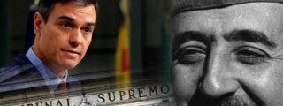 El Tribunal Supremo desestima todos los recursos contra la exhumación de Franco