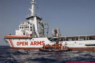 La Fiscalía italiana ordena incautar el Open Arms y el desembarco de todos los inmigrantes