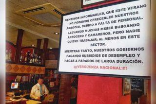 El Asador Guadalmina de Marbella denuncia que no encuentra camareros por las políticas de empleo del Gobierno socialista
