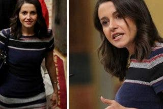 El ceñido vestido de punto de Inés Arrimadas altera a las redes sociales