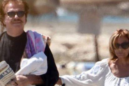 El movidito verano de María Teresa Campos y Bigote Arrocet: separación, reencuentro y 'espantá' malagueña
