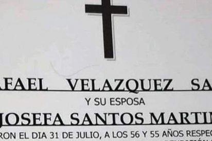 La esquela más polémica: Josefa recibirá su funeral con su marido, Rafa, quien la asesinó a tiros
