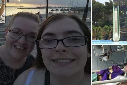 Esta chica británica denuncia que se ha roto la columna en un tobogán de un parque acuático mallorquín