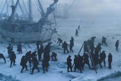 Las primeras imágenes del 'Terror', el mítico navío que 'agonizó' atrapado por los hielos del Ártico