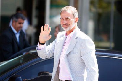El detalle 'mágico' en la visita de Felipe VI al rey Juan Carlos que tiene al personal perplejo
