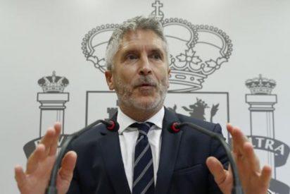 """El ministro Grande-Marlaska no tiene vergüenza: """"Cuando voy por la Gran Vía me paso la cartera al bolsillo delantero"""""""