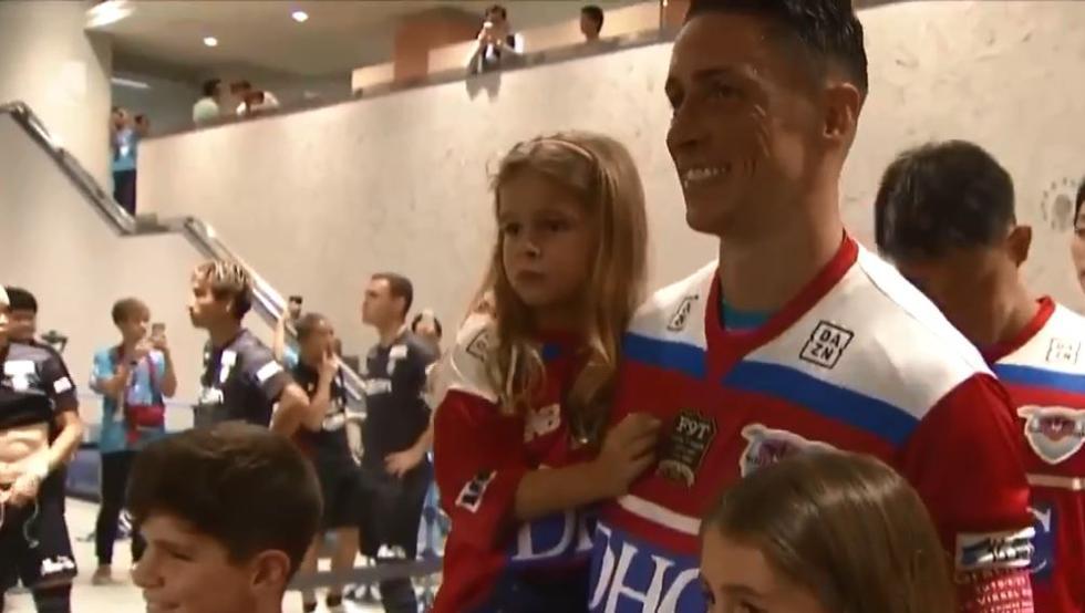 Brutal: Lo que el hijo de Fernando Torres le dijo a su padre antes de su último partido
