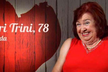 """Mari Trini, la comensal de 'First Dates' de 78 años que se declara """"multiorgásmica"""""""