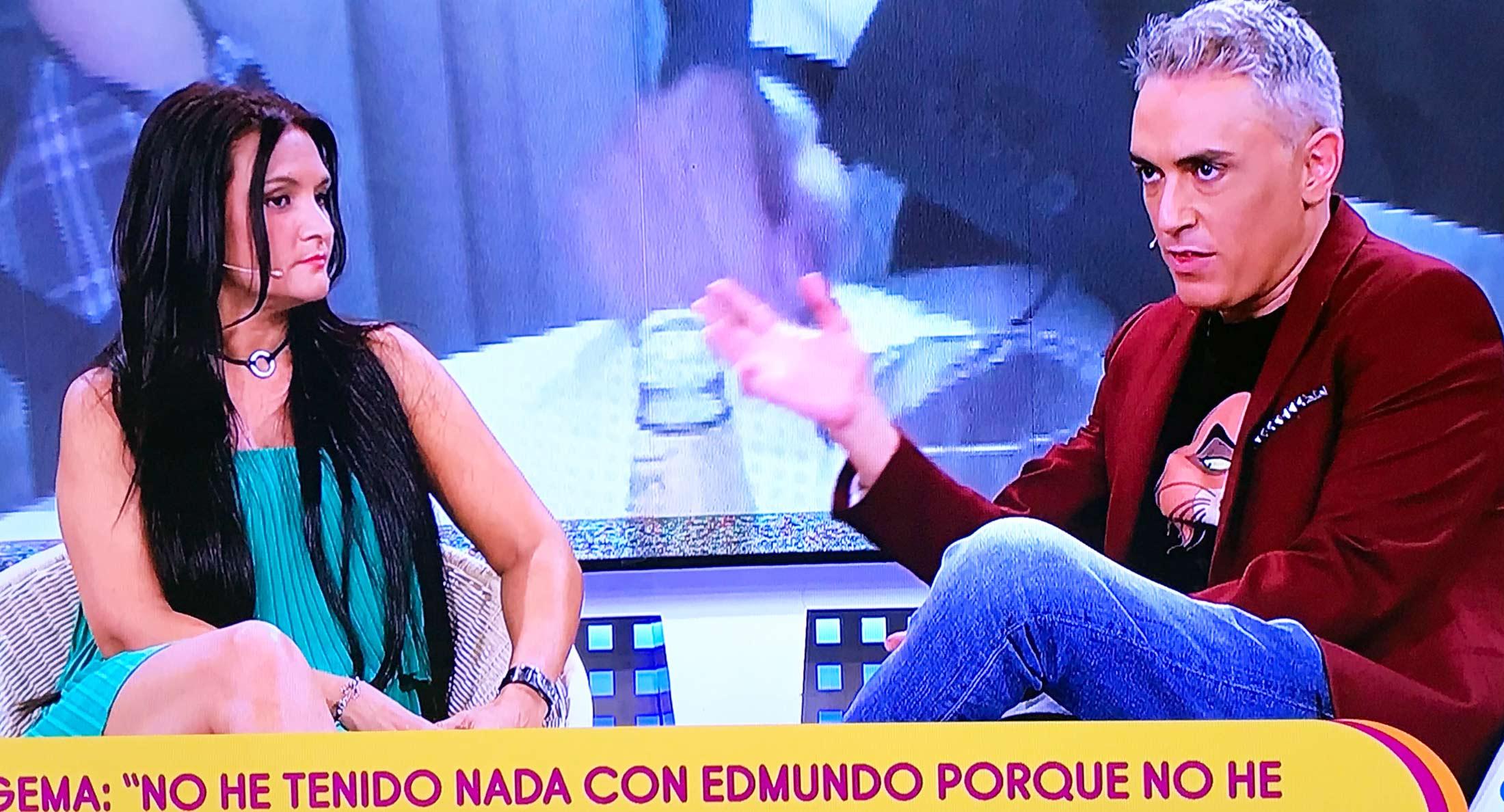 Gema Serrano sobre su relación con Bigote Arrocet: Ni si, ni no, sino todo lo contrario