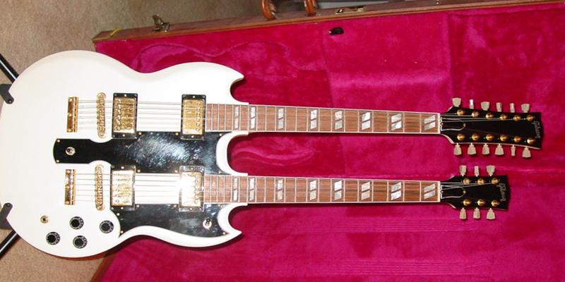 Gibson EDS-1275; una guitarra sólo para valientes