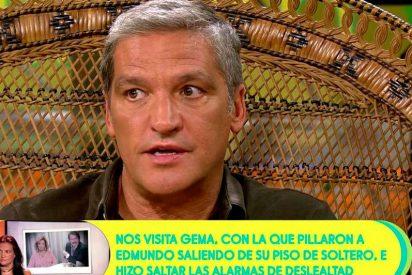 """Salta el escándalo: """"Bigote Arrocet se veía con su amiga Gema cuando Mª Teresa Campos tenía 'Sálvame'"""""""