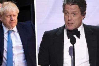 Hugh Grant a Boris Johnson:
