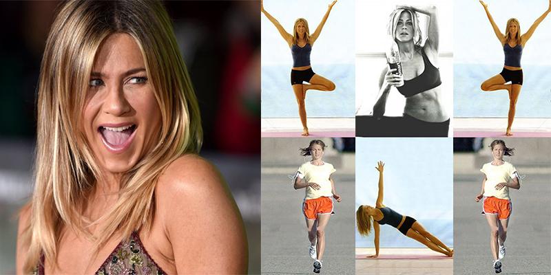 ¿Cómo se practica Spin-Yoga? Jennifer Aniston lo sabe muy bien ¡Los beneficios saltan a la vista!