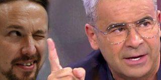 Jorge Javier Vázquez le 'mete un dedo en el ojo' al plasta Pablo Iglesias