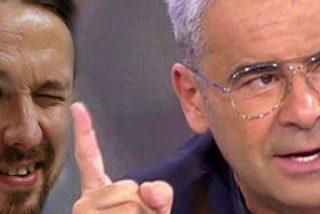 Jorge Javier Vázquez le 'mete un dedo en el ojo' a Pablo Iglesias
