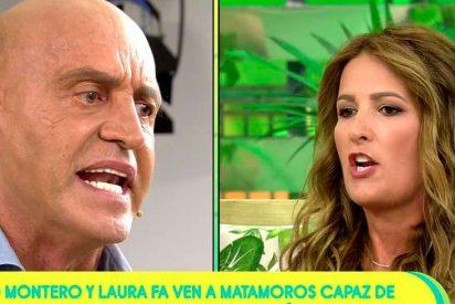 """Kiko Matamoros llama """"hija de p**a"""" a Laura Fa por decir que """"mintió"""" sobre la gravedad de su enfermedad"""